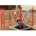 barrière de chantier extensible pour regard # MU2273