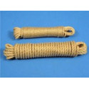 Corde polypropylène beige # AC0581