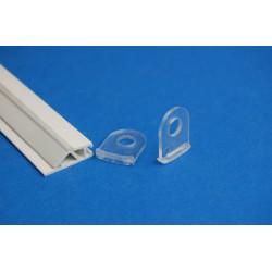 Crochets pour profilés PVC Clippant
