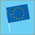 drapeau à main europe # PV2151