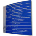 panneau signalétique support alu # DP2311