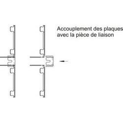 Pièce de liaison pour plaques ONYX et TOPAZE # DP2800