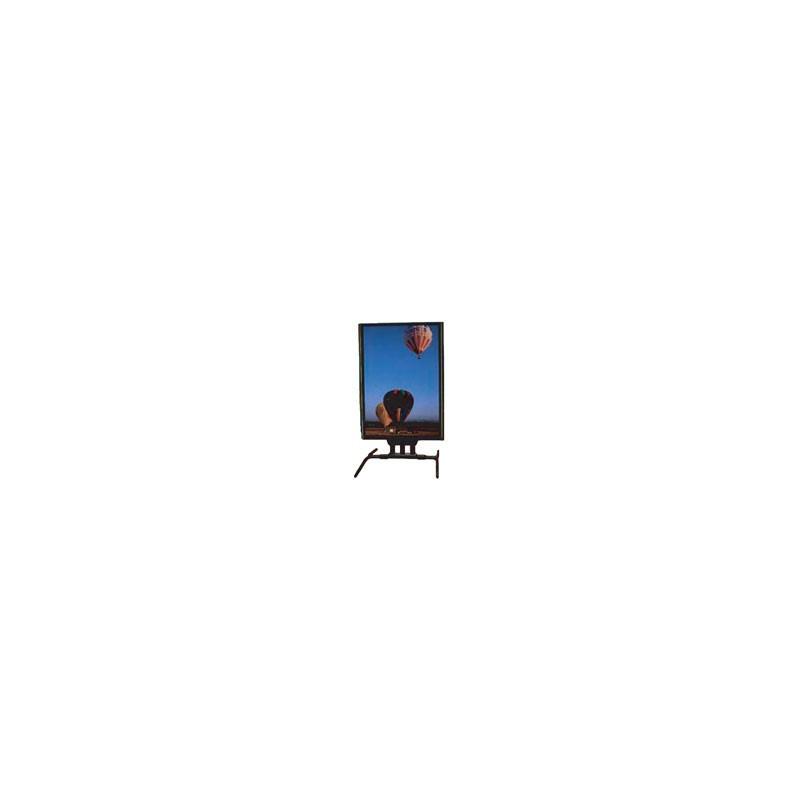 chevalet porte affiche grand format sur ressort # MU0451