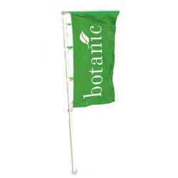 Grands mâts polyester pour drapeau