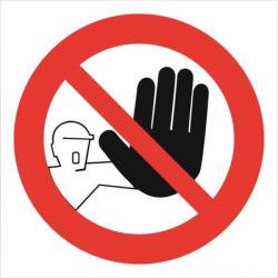 Signalétique de sécurité - Interdiction