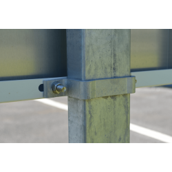 Accessoires pour panneaux en aluminium