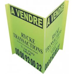 Panneau PVC alvéolaire, immobilier