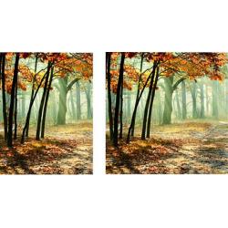 Visuels fond de vitrine sur toile M1