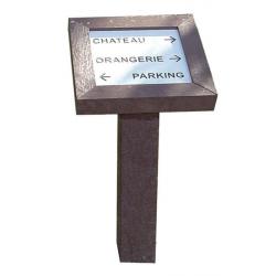 Borne - Panneau d'information Ecolosign