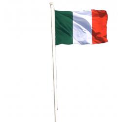 Grand mat alu pour drapeaux