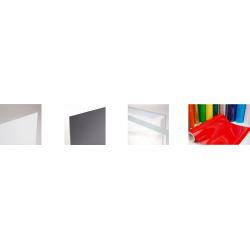 plaque plastique ,pvc rigide ,plexiglas , plastique à la coupe sur mesure